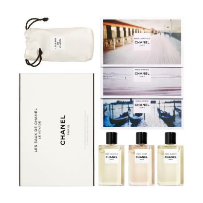 LES EAUX DE CHANEL - TRAVEL SET 3 TRAVEL-FRIENDLY SPRAYS 3X50ml