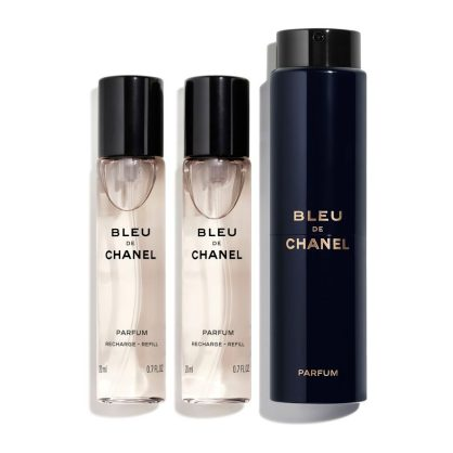BLEU DE CHANEL PARFUM TWIST AND SPRAY 3x20ml