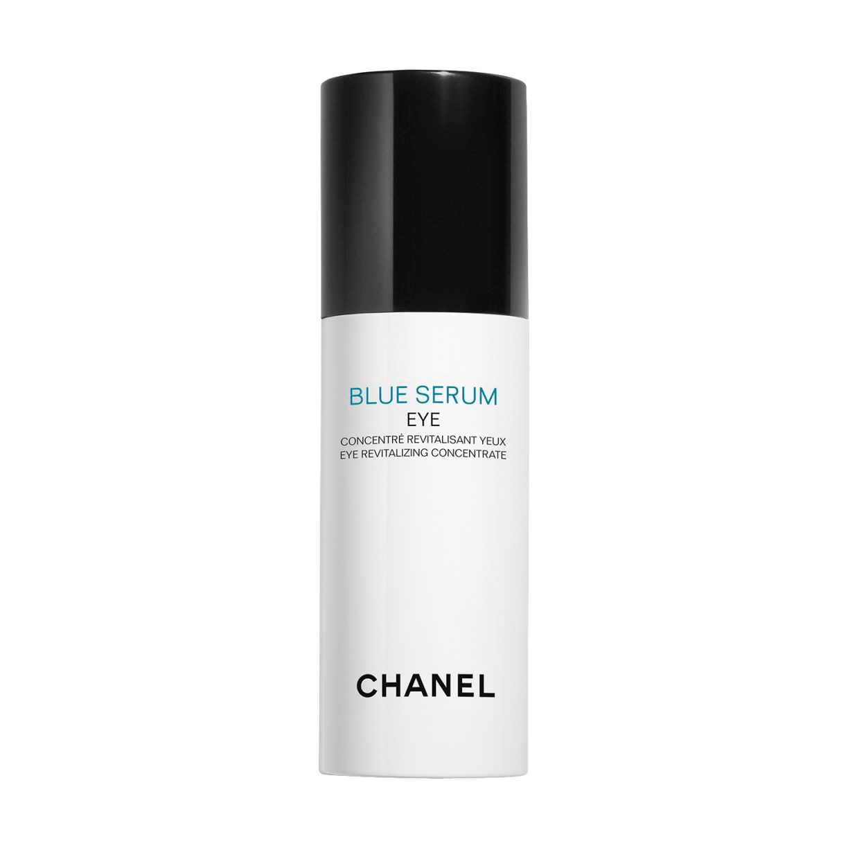 BLUE SERUM EYE LONGEVITY INGREDIENTS FROM DIETS OF THE WORLD'S BLUE ZONES. PUMP BOTTLE 15ML