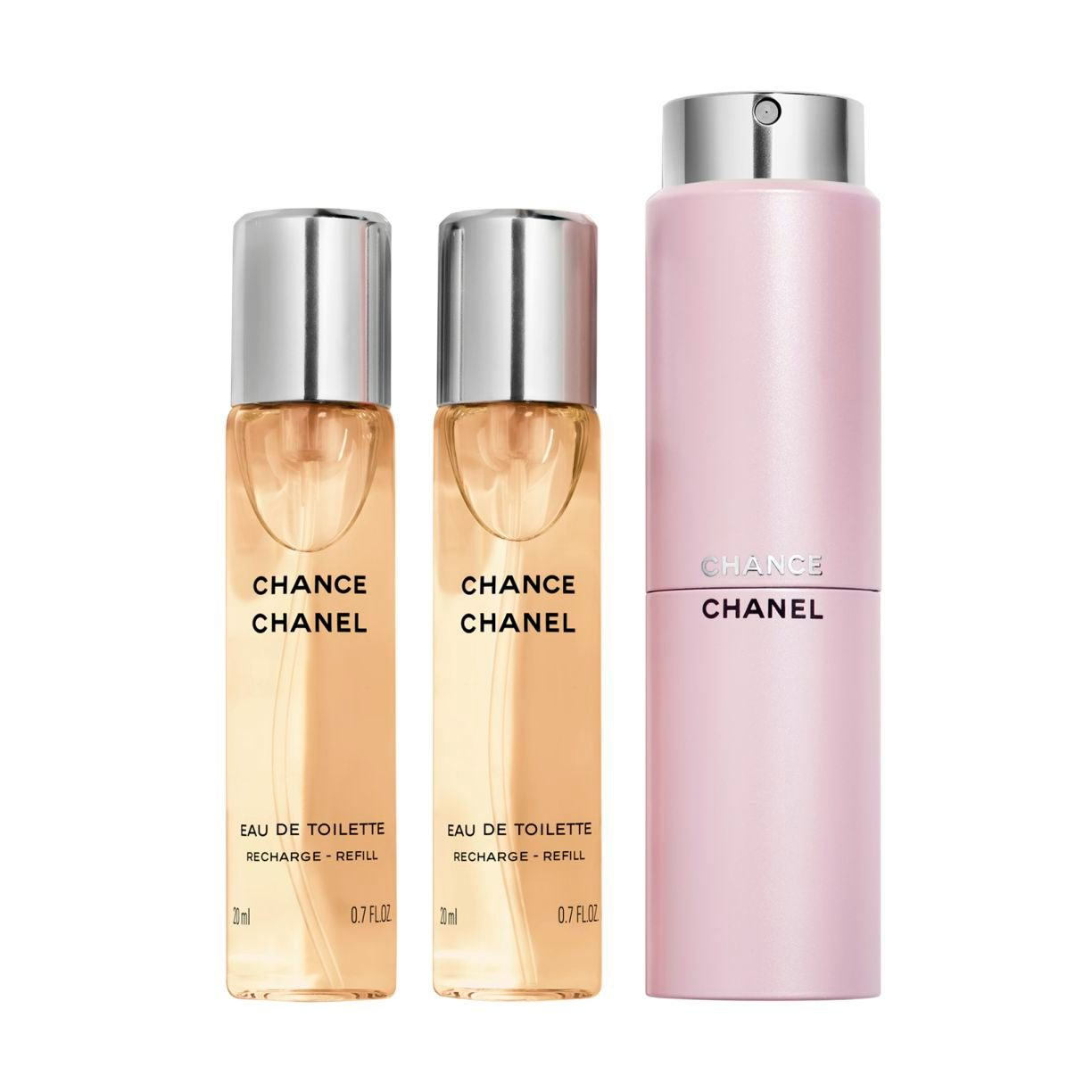 CHANCE EAU DE TOILETTE TWIST AND SPRAY 3x20ml