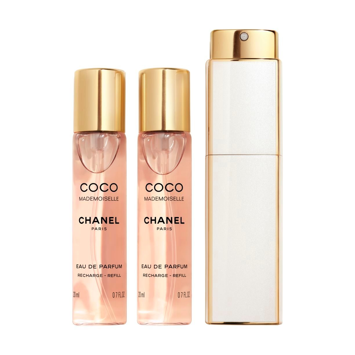 COCO MADEMOISELLE EAU DE PARFUM TWIST AND SPRAY 3x20ml