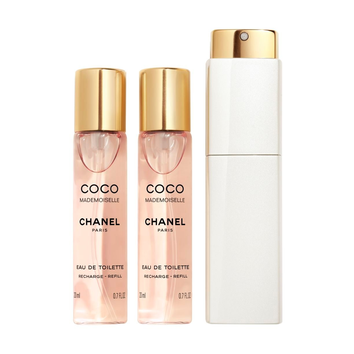 COCO MADEMOISELLE EAU DE TOILETTE TWIST AND SPRAY 3 X 20ML