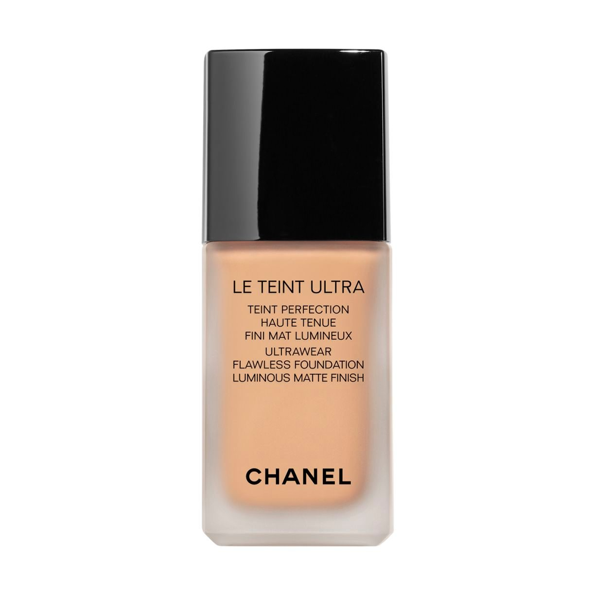 LE TEINT ULTRA TEINT PERFECTION HAUTE TENUE FINI MAT LUMINEUX. 121 CARAMEL 30ML