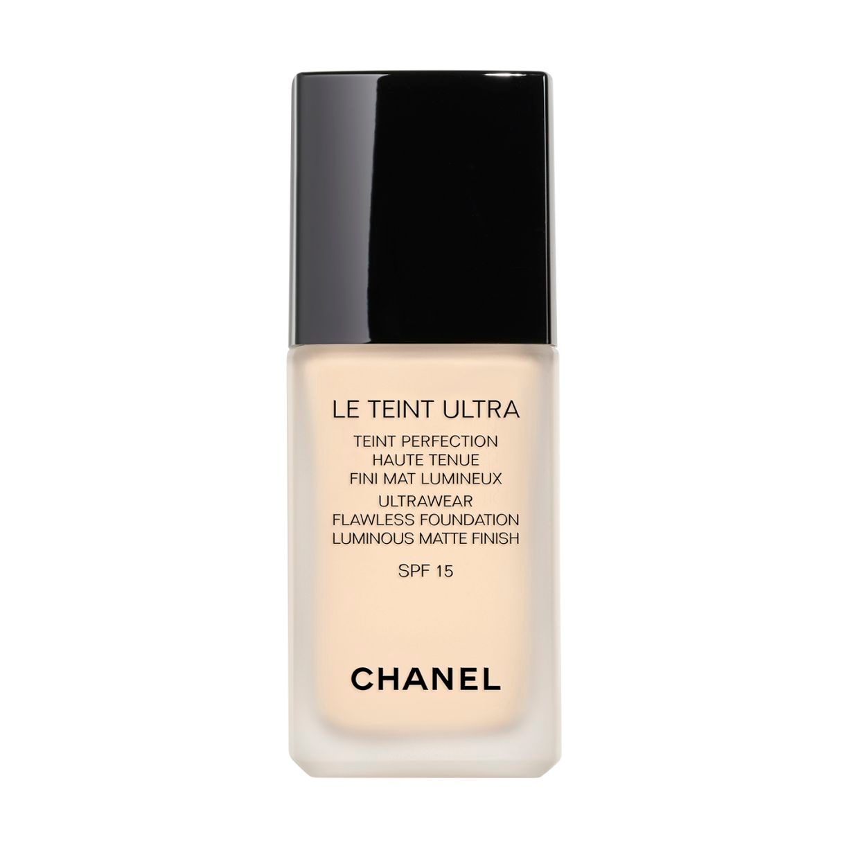 LE TEINT ULTRA TEINT PERFECTION HAUTE TENUE FINI MAT LUMINEUX. SPF 15 10 BEIGE 30ML
