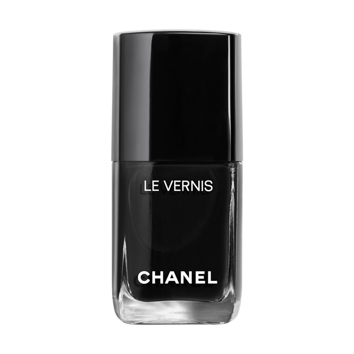 LE VERNIS LE VERNIS LIMITED EDITION. LONGWEAR NAIL COLOUR. 713 - PURE BLACK