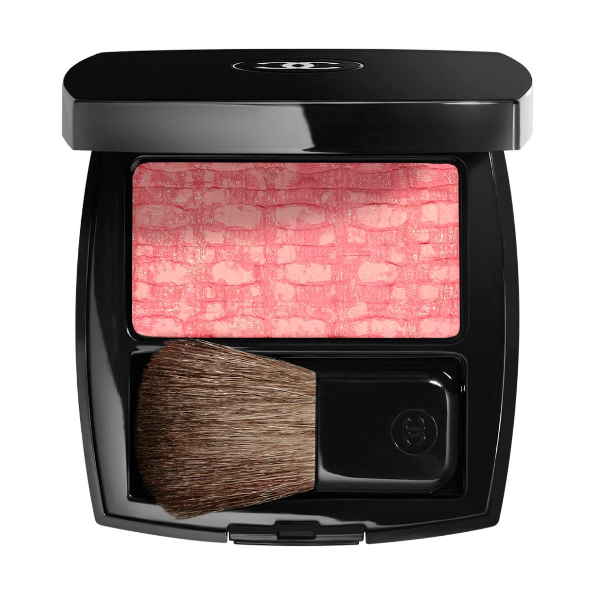 LES TISSAGES DE CHANEL BLUSH DUO TWEED EFFECT 130 TWEED EVANESCENT 5.5G