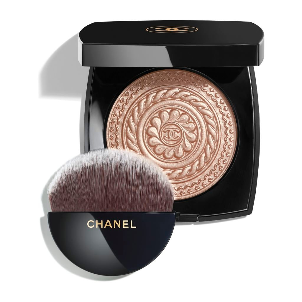 ÉCLAT MAGNÉTIQUE DE CHANEL EXCLUSIVE CREATION - LIMITED EDITION ILLUMINATING POWDER METAL PEACH