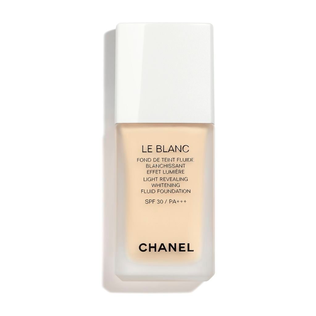 LE BLANC LIGHT REVEALING WHITENING FLUID FOUNDATION SPF 30 / PA+++ B10