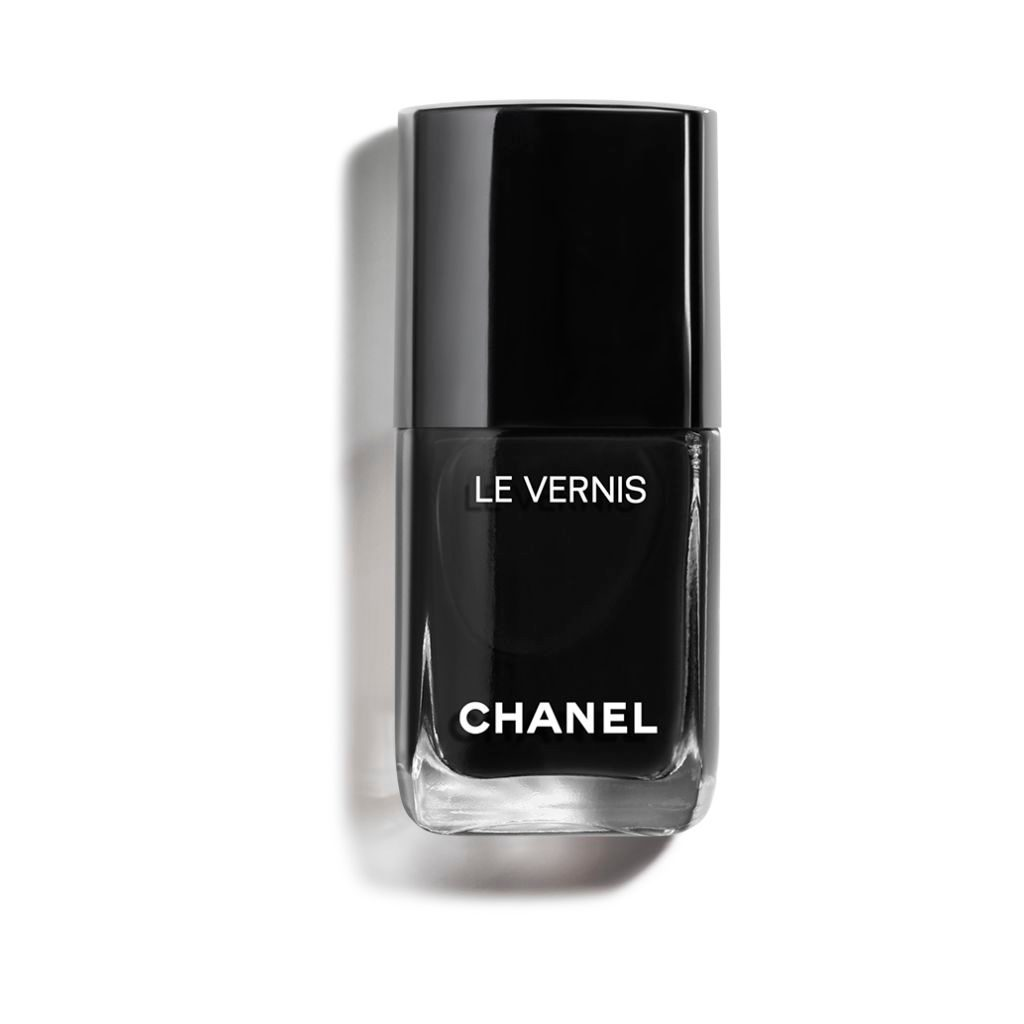 LE VERNIS LONGWEAR NAIL COLOUR 713 - PURE BLACK