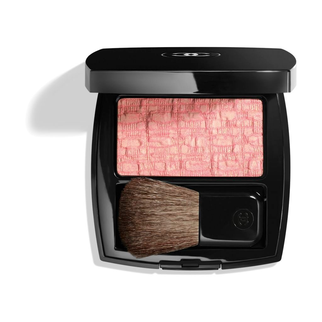 LES TISSAGES DE CHANEL BLUSH DUO EFFET TWEED 10 - TWEED PINK