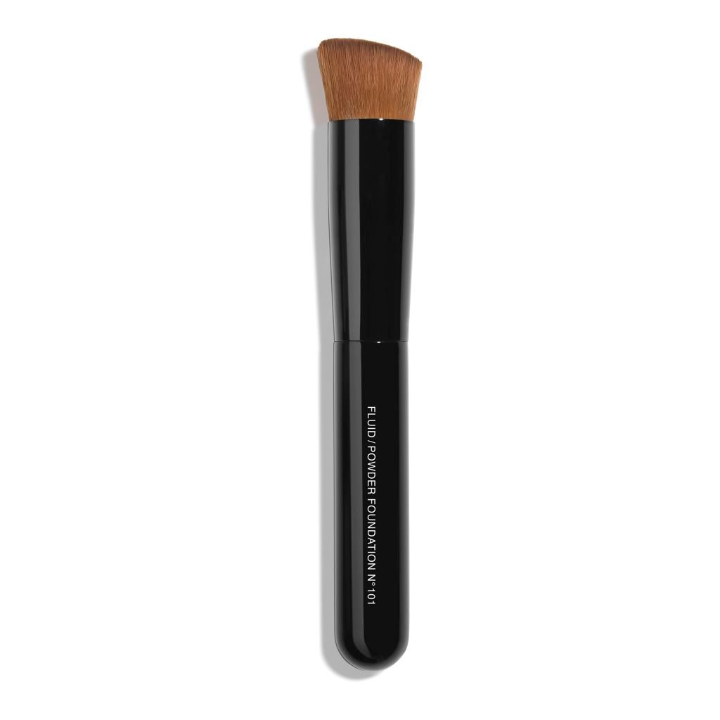 PINCEAU TEINT 2 EN 1 - FLUIDE ET POUDRE N°101 2-IN-1 FOUNDATION BRUSH FLUID AND POWDER 1pce