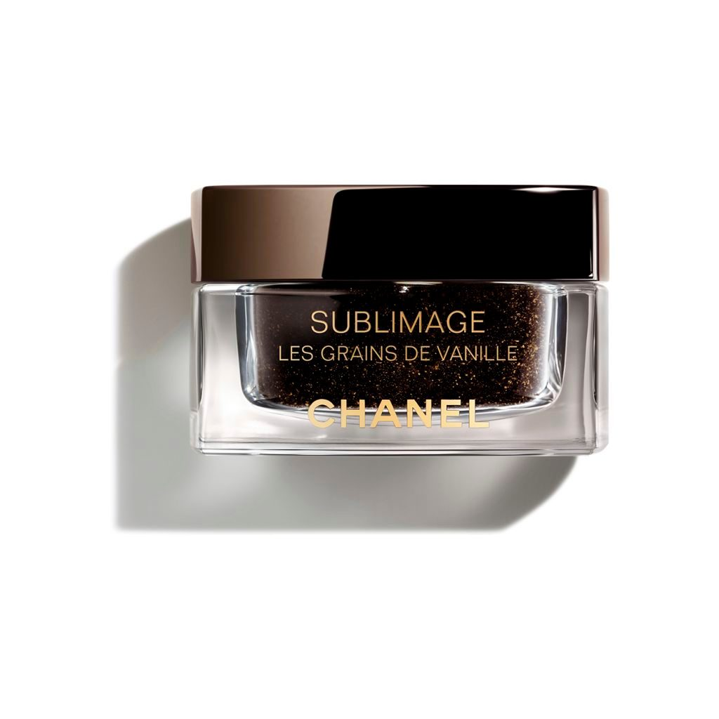 SUBLIMAGE LES GRAINS DE VANILLE PURIFYING AND RADIANCE-REVEALING VANILLA SEED FACE SCRUB 50g